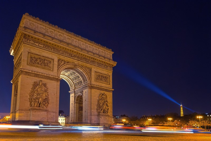 Arc de Triomphe, Paříž