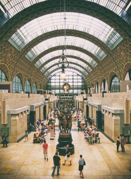 Musee d'Orsay v Paříži